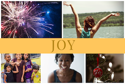 Joy photo collage