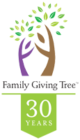 Family Giving Tree Logo Home